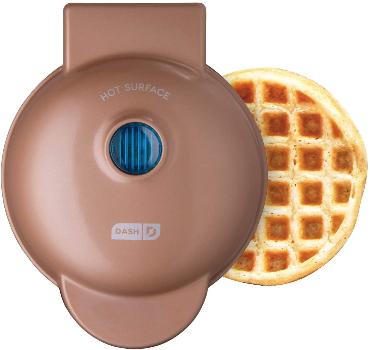 Amazon.com: Dash DMW001CU Machine for Individual, Paninis, Hash Browns, &  other Mini waffle maker, 4 inch, Copper: Kitchen & Dining