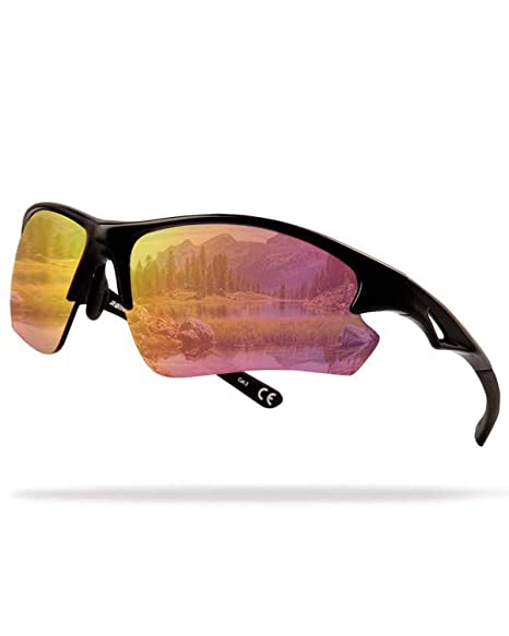 e2afab203a9 Amazon.com   Flux Sports Sunglasses  Special Ops Sunglasses with PC ...