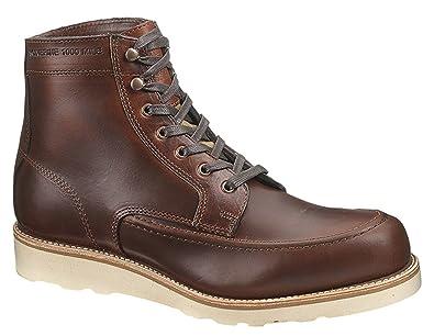 0816e53eb39 Wolverine 1000 Mile Men s Emerson Rust Lace up Boots 14 ...