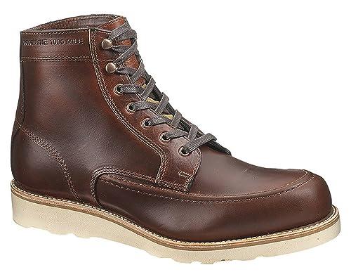 e31a9d79bc8 Amazon.com | Wolverine 1000 Mile Men's Emerson Rust Lace up Boots 14 ...