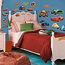 Roommates Rmk1520Scs Disney Pixar Cars Piston Cup Champs Peel & Stick Wall Decal