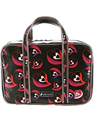 Sakroots Womens Artist Circle Critter Travel Case, Scarlet Sweetheart
