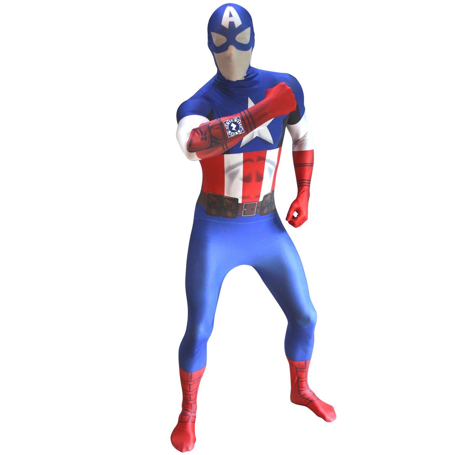 Morphsuits - Disfraz capitán, talla M (MLZCAM): Amazon.es ...