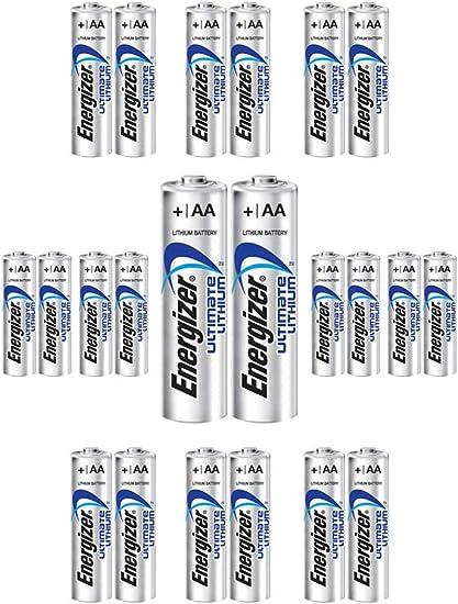 Amazon Com 24x Energlzer Aa Lithium Batteries Ultimate L91 Exp 2038 Usa Wholesale Lot Health Personal Care
