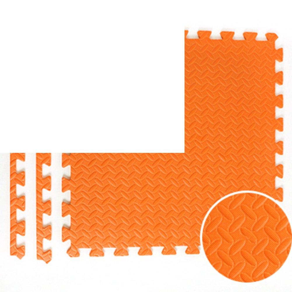NRQU Door mat,Gate pad,Thicken,[child],Bubble pad,Mosaic crawl mat,Bedroom non-slip floor mat-F 60x60x2.5cm(24x24x1inch)