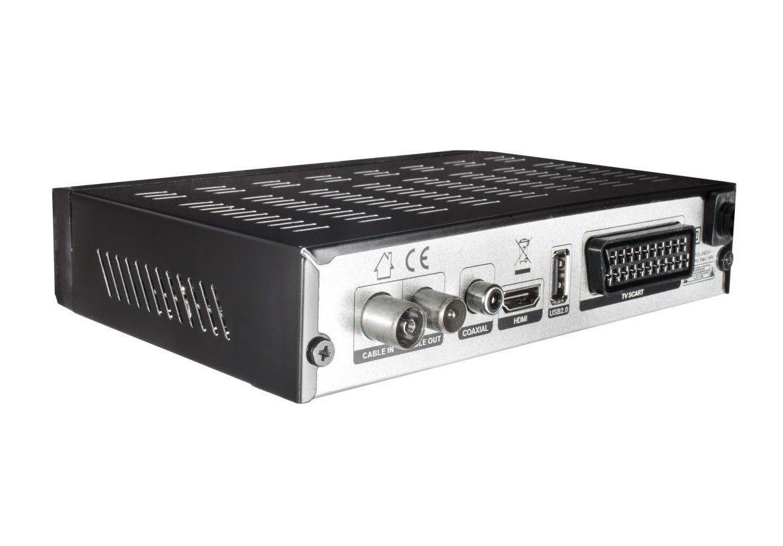 color negro Comag DKR 60/HD Digital Full HD Receptor de cable PVR Ready, HDTV, DVB-C, Time Shift de funci/ón, HDMI, SCART, USB 2.0