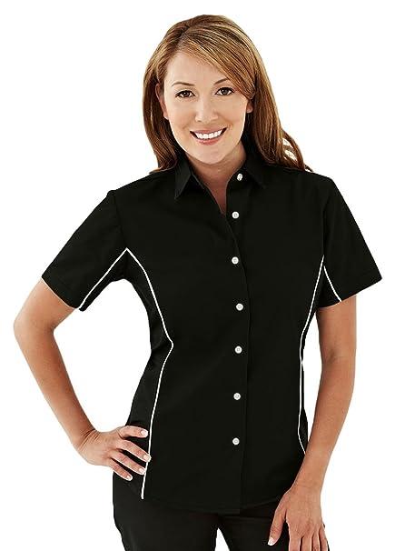 Mujer Camiseta Trm Manga Corta De Mountain Polyalgodón Tri wqZfEf