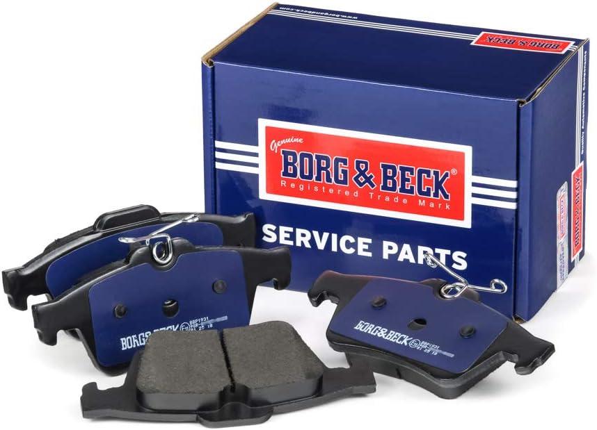 Borg /& Beck BBP1931 Juego de Pastillas de Frenos