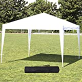 10x10 Party Tent Pop Up Canopy, Sun EZ Up Canopy Tent Instant Folding Canopy W/Carrying Bag Waterproof