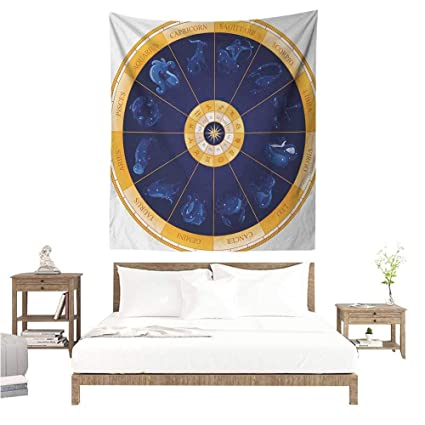 Amazon com: WilliamsDecor Smooth and Smooth Tapestry Astrology Natal
