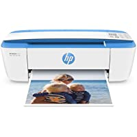 HP DeskJet 3755 Compact All-in-One Wireless Printer, HP Instant Ink, Blue Accent (J9V90A)