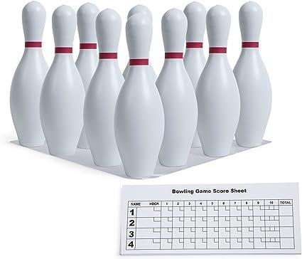 Champion Sports Plastic Bowling Pin Set: : Sports