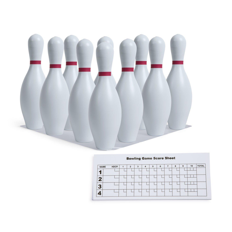 Champion Sports Plastic Bowling Pin Set B000KA4PFG