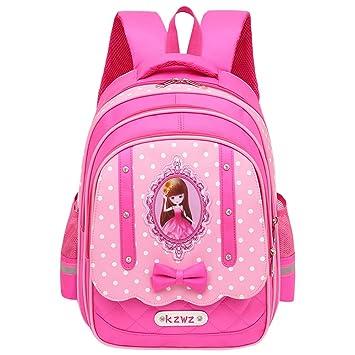 SYAODU bags Mochilas Escolares para niños Niñas Cute Dot 3 Sets Mochilas Escolares Mochilas Escolares Mochilas Mochilas versátiles Ligeras (Color : Rose ...