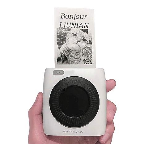 Impresora fotográfica instantánea Mini impresora inalámbrica ...