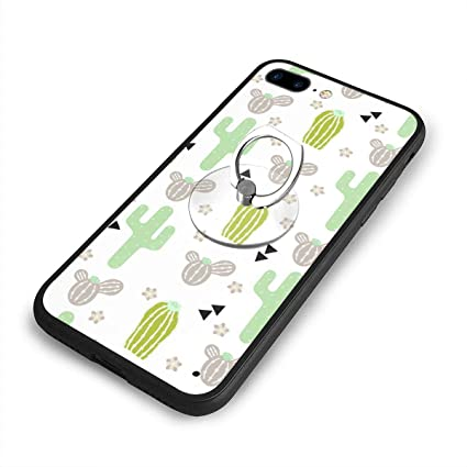 Amazon.com: Carcasa para iPhone 7/8 Plus, diseño de cactus ...