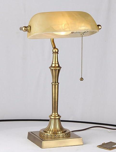 CJSHVR Bedroom Lamps, Vintage Bankers, Desk Lamps, Old Fashioned Table Lamps