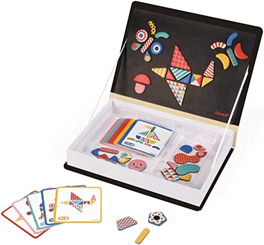 Janod - Magnetibook Moduloform, Libro magnético (J02820): Amazon.es: Juguetes y juegos