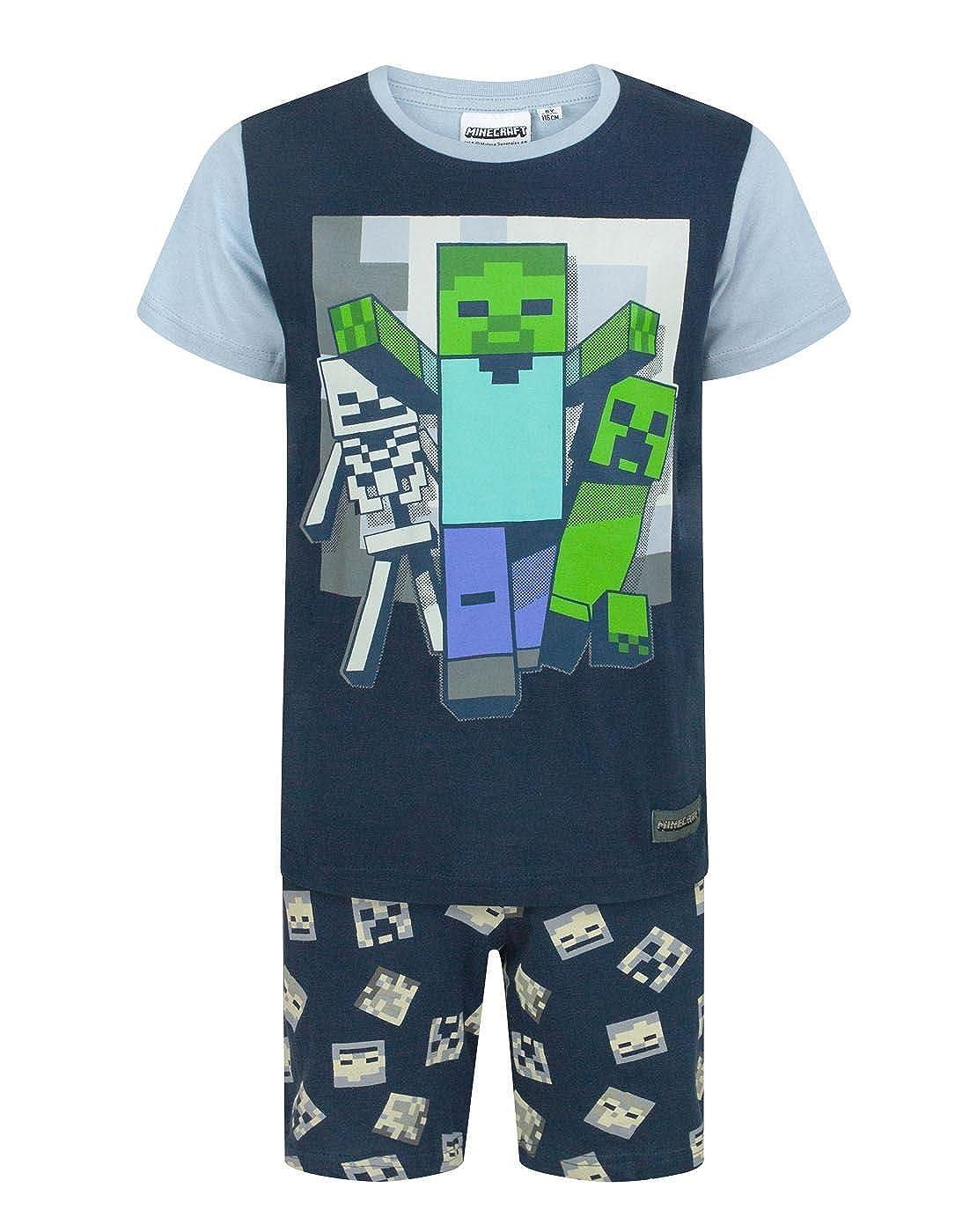 Minecraft Undead Boys Pyjamas Blue