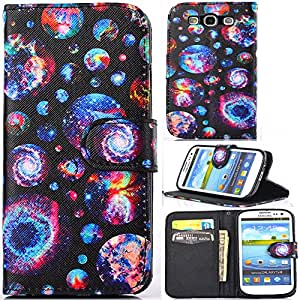 S3,S3 Case,Kaseberry [Kickstand Feature] S3 Wallet Case,Luxury Pu leather Case Flip Cover with Money Card Slot for Samsung Galaxy S3,III,i9300