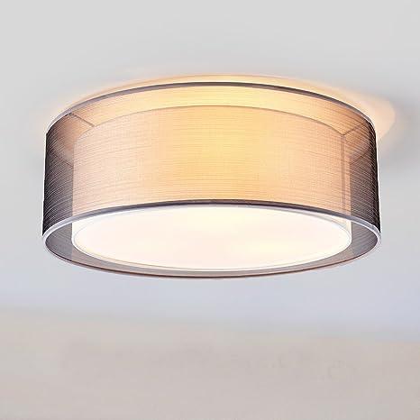 redondas - Lámpara LED de techo - Modern doble pantalla de ...