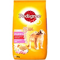 Pedigree Puppy Dog Food Chicken & Milk, 10 kg Pack
