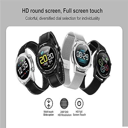 SAILORMJY Reloj Inteligente,Pulsera de Actividad Inteligente,ECG ...