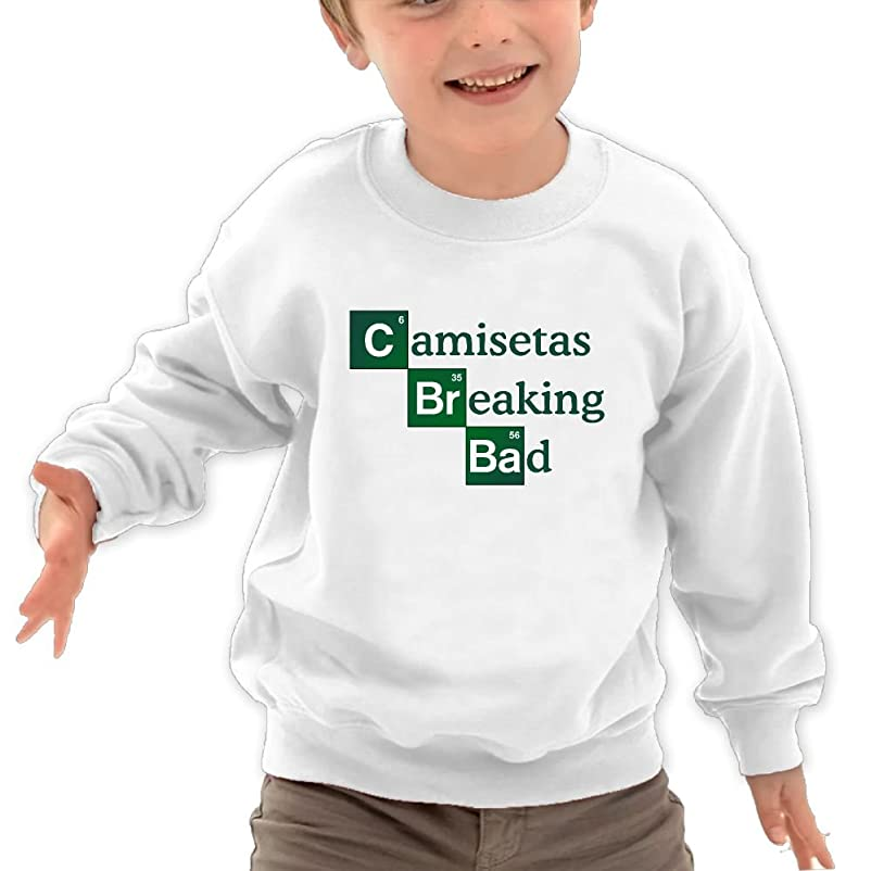 Amazon.com: Puppylol Breaking Bad Kids Classic Crew-neck Pullover Sweatshirt White: Clothing