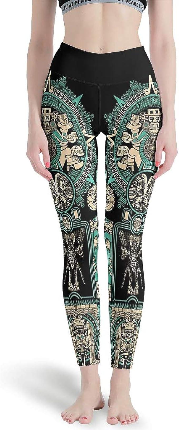 Generic Branded Mallas de yoga de cintura alta para mujer ...