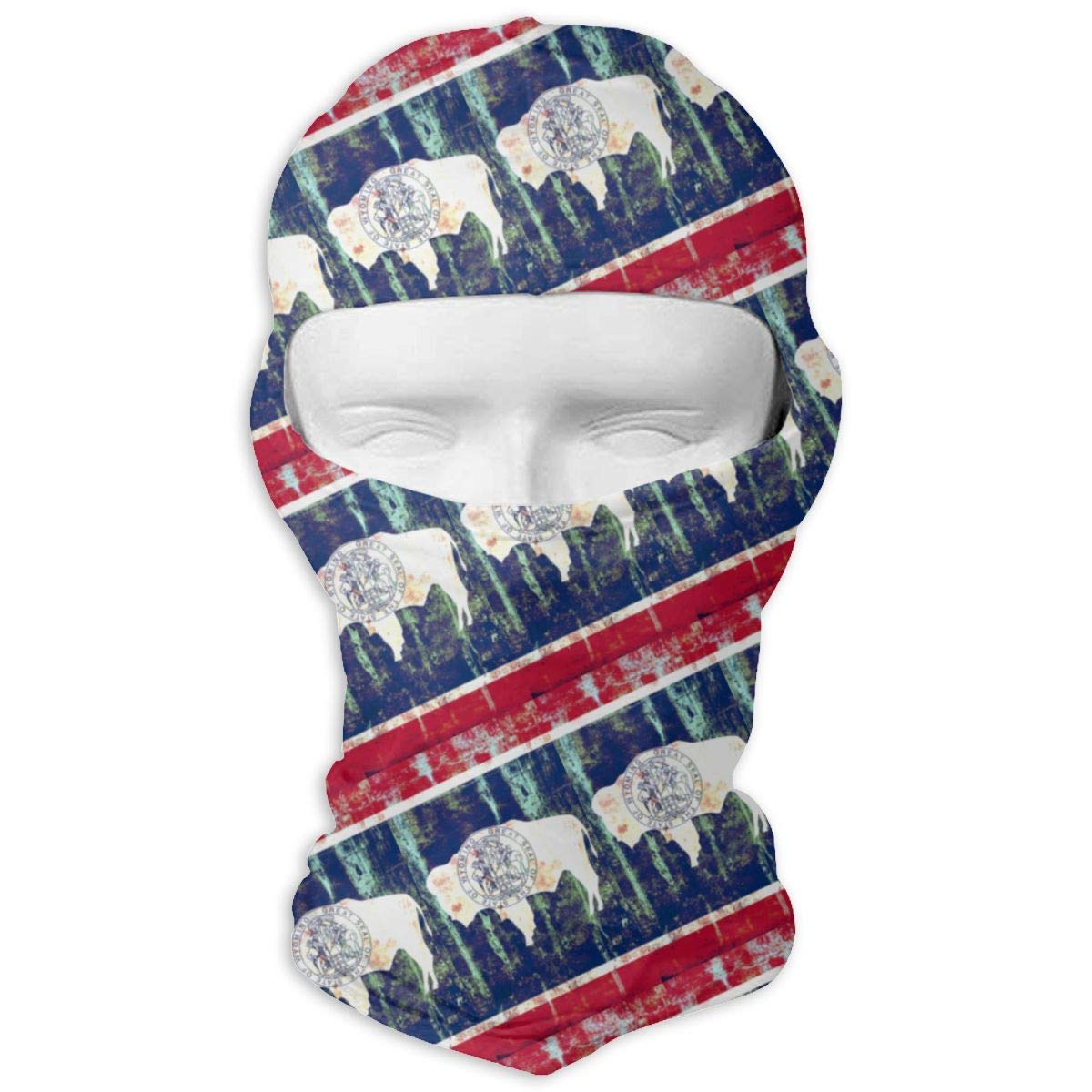 Gxdchfj Wyoming Flags of The U S States Balaclava Face Mask