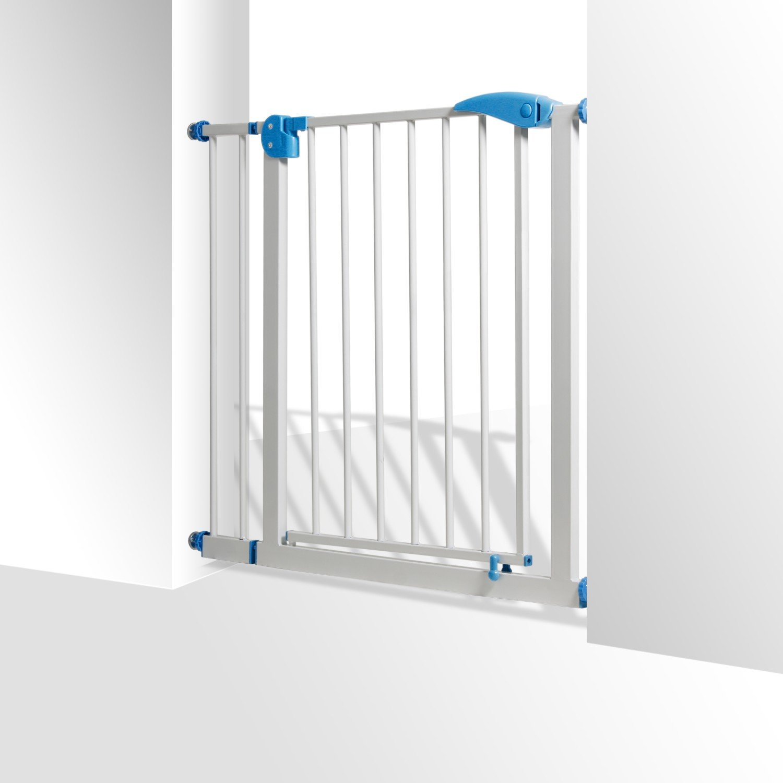 KIDIZ® Türschutzgitter Absperrgitter Gitter Treppengitter Kindergitter 88-101cm