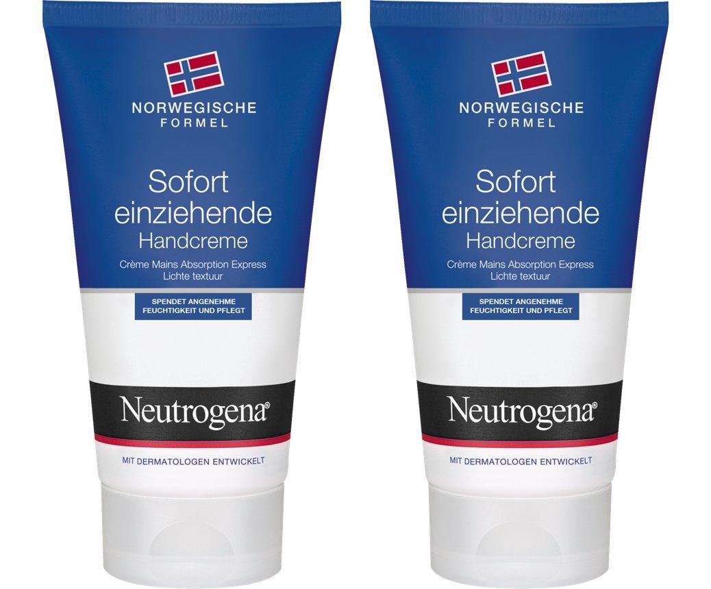 Neutrogena Norwegische Formel Hand & Nagel Creme, 2 x 75ml 47938