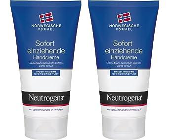 Neutrogena Crema De Manos Absorción Express - 2 Unidades x 75 ml.