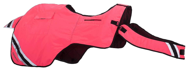 Equisafety Winter - Tappetino da Allenamento, colore Giallo Fluo, rosa (rosa Flash), X-Full