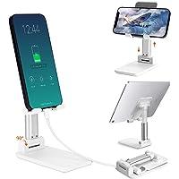 Universal Soporte Celular, Odar Soporte Ajustable para Teléfono Celular, Soporte de Tablet Multiángulo, Soporte Plegable…