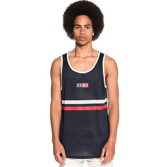 Grimey Camiseta Tirantes ASHE Mesh SS18 Navy z8mZgEVna