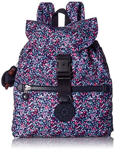 Kipling Keeper Medium Backpack, glistening poppy blue