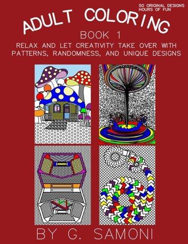 Download Adult Coloring Book Book 1: English Version (Adult Coloring Books) (Volume 1) pdf epub