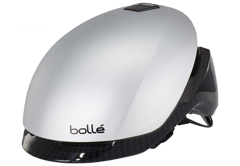 Bolle Messenger Premium Helmet Silver Carbon Kopfumfang 54-58 cm 2016 Mountainbike Helm Downhill