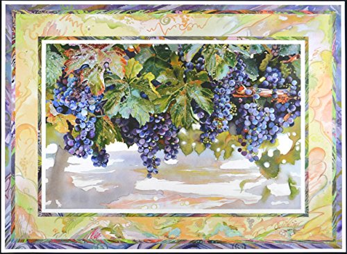 Wine Country Art Fine Lithograph Print (Pinot Noir)