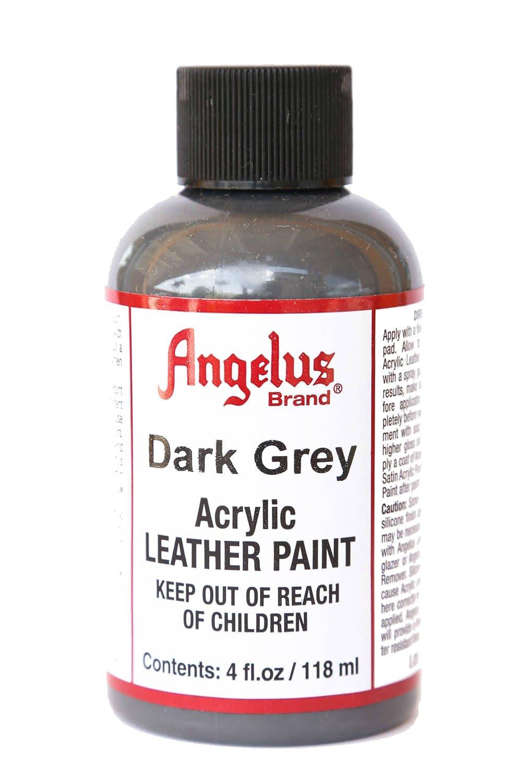 Angelus Pintura acrílica para cuero gris oscuro 118ml