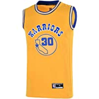 896b3fe8cbb Youth 8-20 Golden State Warriors  30 Stephen Curry Jersey for Boys Yellow