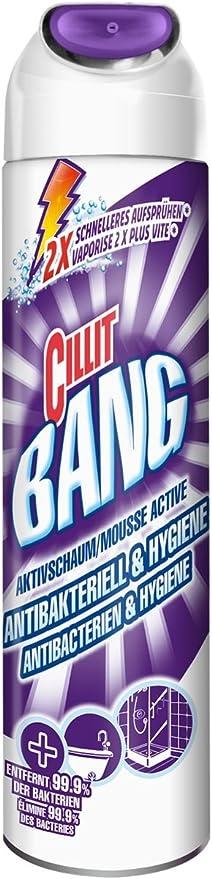 Cillit Bang Bad-Reiniger Aktivschaum Antibakteriell 145481: Amazon.es: Salud y cuidado personal