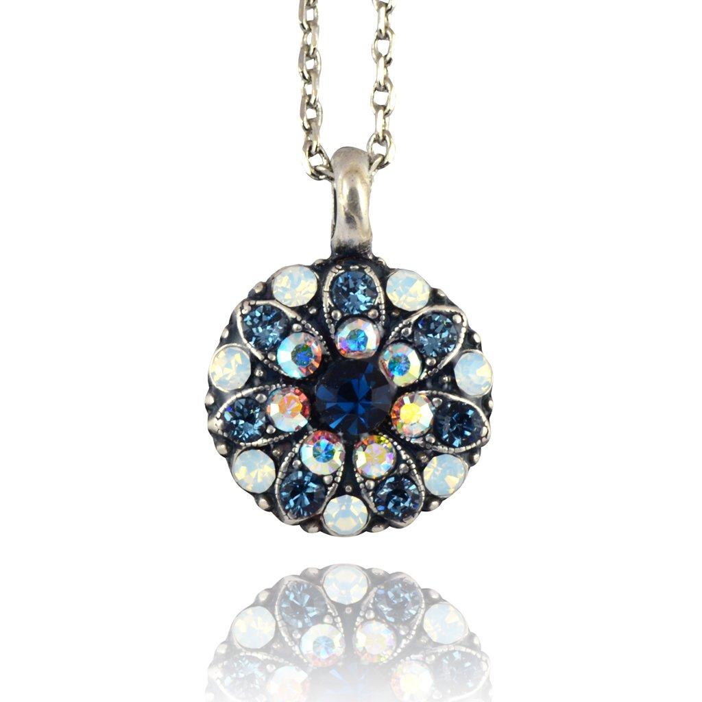 Mariana Mood Indigo Silver Plated Star of David Pendant Necklace 5212/_1 1069