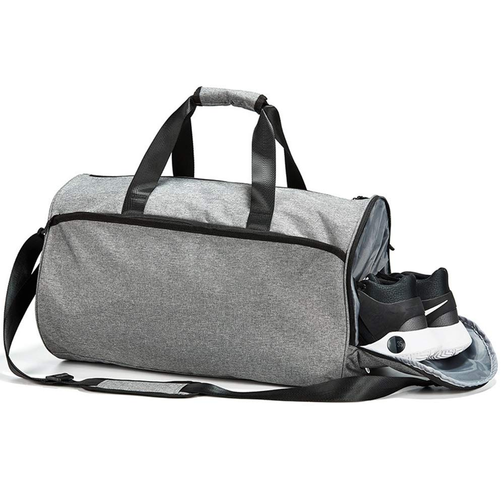 Duffel Bag for Men Workout Bag Fitness Bag Sports Gym Bag Basket Ball Bag with Shoes Compartment