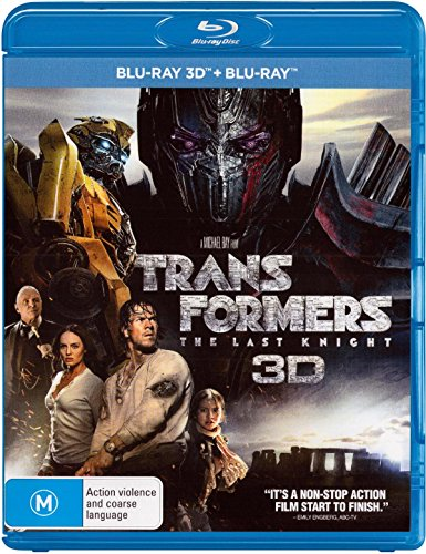 Transformers The Last Knight 3D Blu-ray / Blu-ray | NON-USA Format | Region B Import - Australia