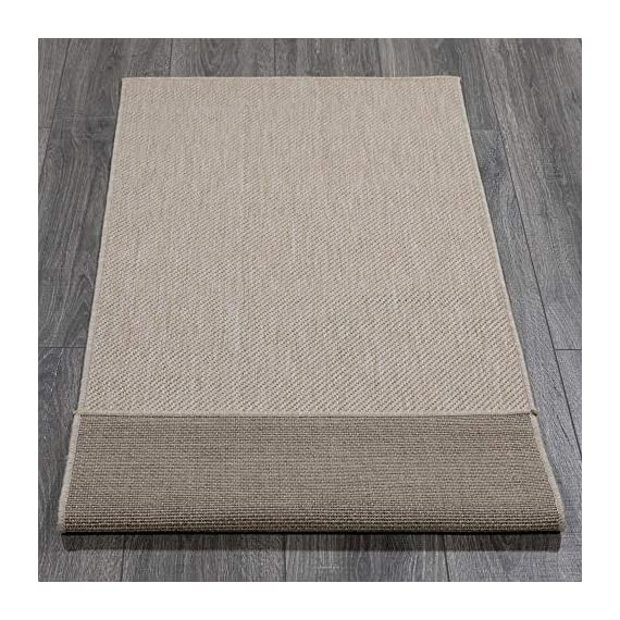 Ottomanson Jardin Collection Solid Design Runner Rug, 2' x 5', Cream - VERSATILE: Robust construction makes it ideal for high-traffic areas indoor or outdoor. DURABLE and LONG LASTING: Power-loomed in Turkey with %100 polypropylene. LOW-PILE HEIGHT is non-shedding and ideal for homes with pets and high-traffic. - runner-rugs, entryway-furniture-decor, entryway-laundry-room - 61ZCwPPeFxL. SS570  -