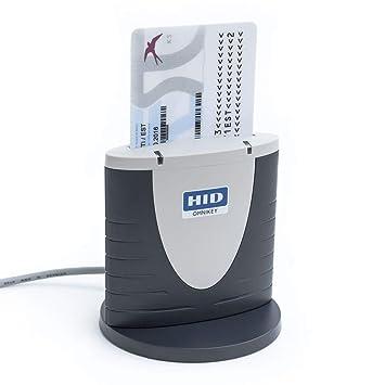 HID Omnikey 3121 DNI electrónico Lector de Tarjetas Inteligentes Smart Card ID eID USB