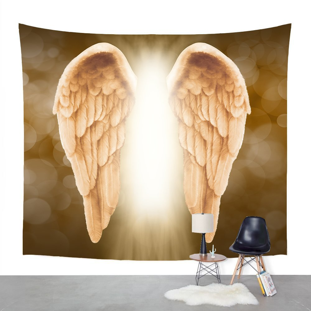 Attractive Angel Wing Wall Art Crest - Art & Wall Decor - hecatalog.info