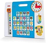 Painel Aprendendo o ABC, Aprender e Brincar, Fisher Price, Azul, Mattel